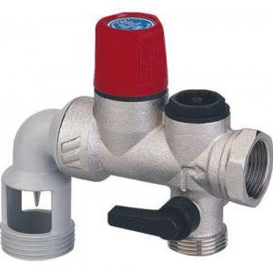 Watts Industries 52571 - Groupe de sécurité 20x27 coudé orientable inox