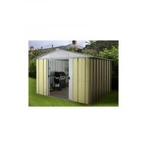 Yardmaster NS108 - Abri de jardin en métal 6,44 m2