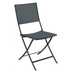 Vlaemynck Verone - Chaise de jardin pliante tout acier
