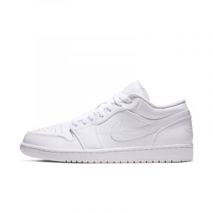 Nike Chaussure Air Jordan 1 Low pour Homme - Blanc - Couleur Blanc - Taille 49.5