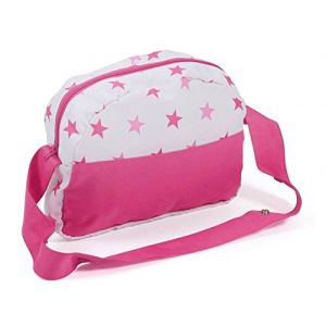 Bayer Chic 2000 Sac à langer poupée poney princesse rose/rose vif