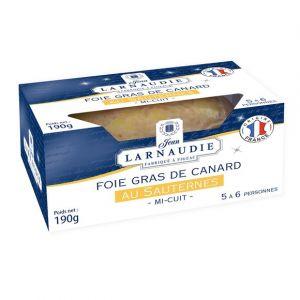 Larnaudie Foie gras de canard france au sauternes coussin dans pack 190g
