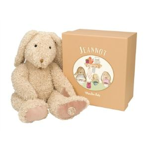 Moulin roty Peluche Le lapin Jeannot 42 cm