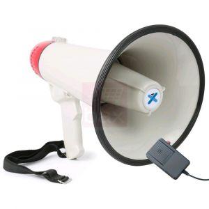 Vexus MEG040 Mégaphone 40 watts fonction enregistrement sirène microphone sur pi