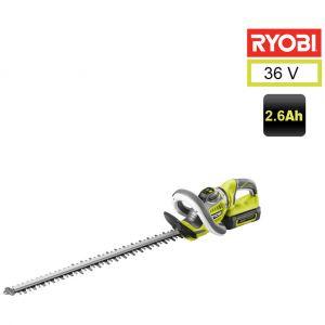 Ryobi RHT36C60R26 - Taille-haies 60 cm 36 V