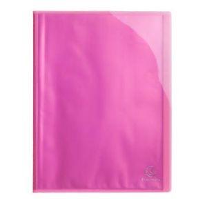 Exacompta 85774E - Protège-documents IDERAMA PP, 60 vues, rose