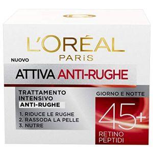 L'Oréal Attiva Anti-Rughe Trattamento Intensivo Anti-rughe Anni 45+ Giorno e Notte - 50 ml