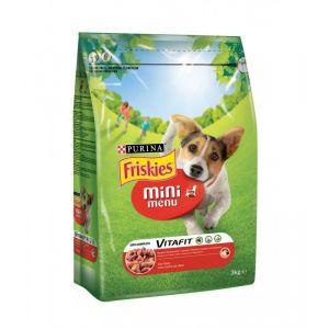 Friskies Adult Mini Menu Croquettes Pour Chien 3 kg