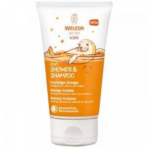 Weleda Kids Shampooing Douche 2 en 1 Orange Fruitée - 150 ml