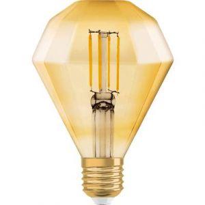 Osram Vintage 1906 LED E27 Diamond 4.5W 825 Dorée | Substitut 40W