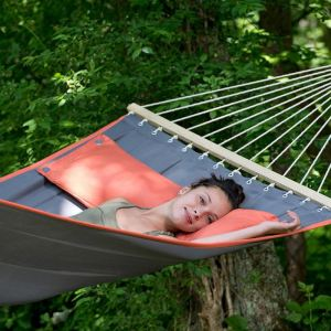 Amazonas American Dream - Hamac à barres avec coussin 335 x 120 cm