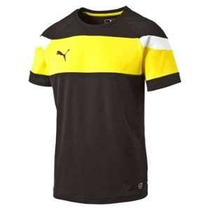 Puma 654655 37 Maillots Homme Noir/Cyber Yellow FR : S (Taille Fabricant : S)