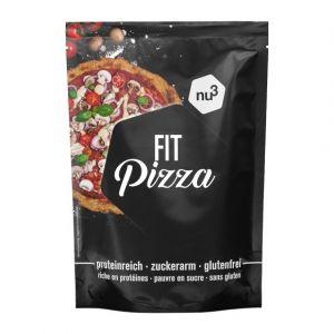 Nu3 Complément alimentaire pour préparation pour pâte à pizza aux graines de chia et au psyllium