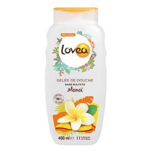 Lovea Gelée de douche sans sulfate - Monoï