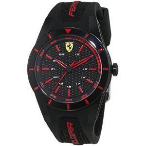 Image de Scuderia Ferrari 0840004 - Montre pour homme avec bracelet en silicone