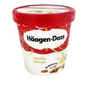 Häagen-dazs Glace vanilla noix de pécan - Le pot de 430g