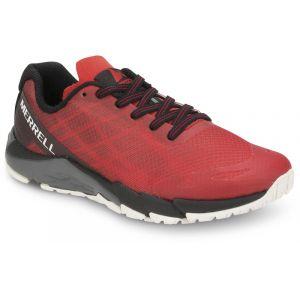 Merrell M-Bare Access - Chaussures running Enfant - rouge/noir EU 32 Chaussures de running