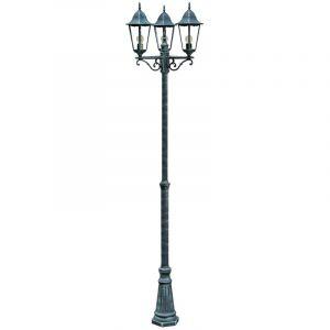 Harms Lampadaire extérieur jardin terrasse luminaire sur pied candélabre éclairage lanterne