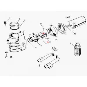 Procopi 501016 - Garniture mécanique de pompe Hayward
