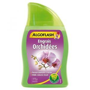 Algoflash Engrais Orchidées 375 ml - Engrais complet liquide avec oligo-éléments