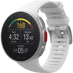 Polar Montre sport GPS Vantage V blanche