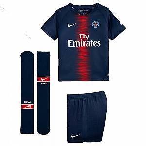 Nike 2018-2019 PSG Home Little Boys Mini Kit