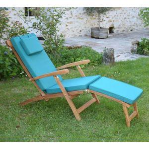 Teck'Attitude Matelas Vert pour Chaise longue
