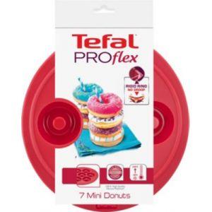 Tefal J4092514 - Moule Proflex en silicone pour 7 mini Donuts