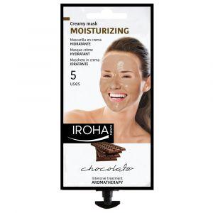 Iroha nature Masque crème hydratant au chocolat 5 utilisations