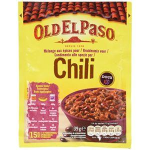 Old el paso Mélange d'Épices pour Chili 39 g - Lot de 8