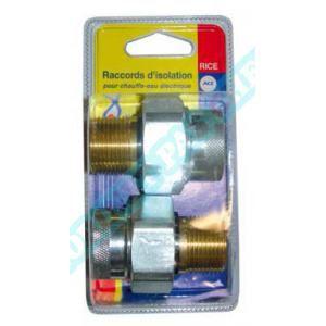 Thermador Raccord d isolation électrique - Le lot de 2 -