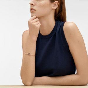 SKAGEN Bracelet Elin SKJ0851791 - Bracelet Milanais Doré Rose Femme