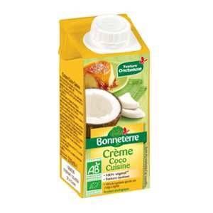 Bonneterre Crème de coco pour la cuisine bio 200 ml