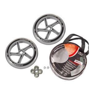 Hudora Set de 2 roues 180 mm avec 4 roulements à billes + sac