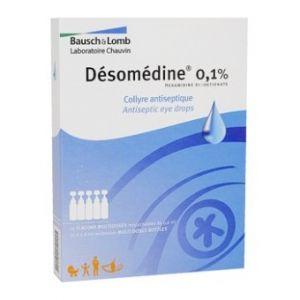 Chauvin arnoux Désomédine 0,1 % - 6 ml COLLYRE