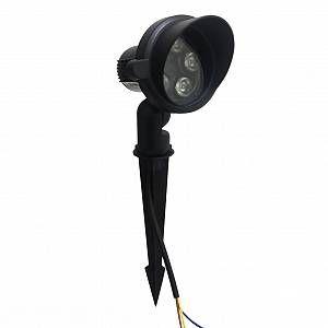 Silamp Spot à Piquer LED extérieur 5W IP65 - couleur eclairage : Blanc Chaud 2300K - 3500K