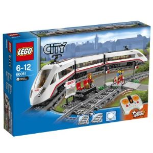 Lego 60051 - City : Le train de passagers à grande vitesse