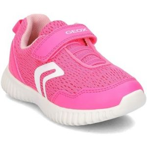 Geox B Waviness B, Sneakers Basses bébé fille, Rose (Fluo Fuchsia), 26 EU