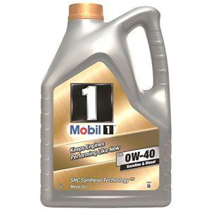 Mobil 1 153678 Huile Moteur synthétique FS 0W40, Gold, 5 litres