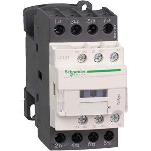 Schneider Electric Lc1dt20bd Contacteur 20 A 24 V DC, Cont. 20 A 4pole 24 V DC