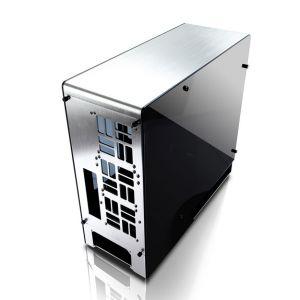 Inwin 909 - Boîtier Grande tour avec panneaux latéraux en verre trempé sans alimentation