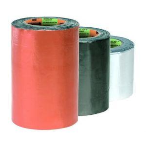 Scapa/Barnier Ruban adhésif à froid butyle couleur plomb dimension 100 mm x 10 m : 143703