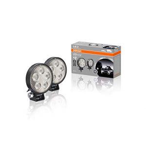 Osram Auto LEDriving ROUND VX70-SP LEDWL102-SP Projecteur de travail 12 V, 24 V éclairage longue portée large (L x l x