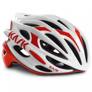 Kask Casque Mojito Blanc-Rouge - 48-58cm