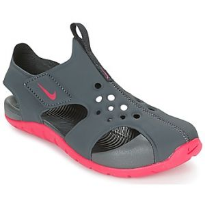 Nike Sunray Protect 2 (PS), Sandales de Sport Fille, Multicolore (Anthracite/Rush Pink 001), 29.5 EU