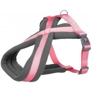 Trixie Premium touring harnais - S: 35-50 cm/20 mm, rose