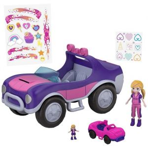 Mattel Polly Pocket - La voiture secrète