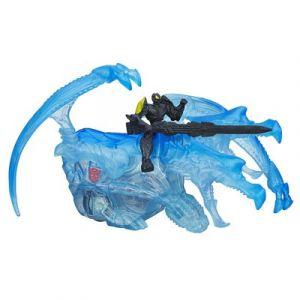 Hasbro Figurine Transformers Dinos étinceleurs Bumblebee et Strafe Dino