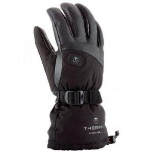 Therm-Ic Thermic Gants PowerGloves Ladies V2 Chauffants Femme, Noir, S