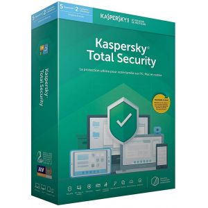 Total Security 2019 (5 Postes / 1 An) [Windows]